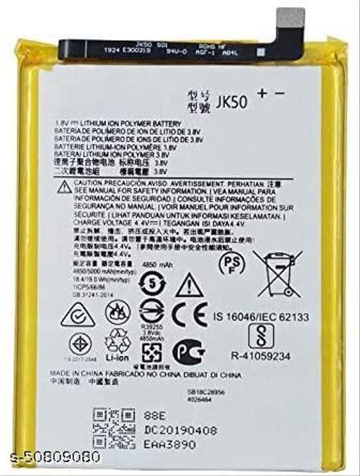 Divleen Compatible Mobile Battery for Motorola Moto G7 Power JK50 5000 mAh.