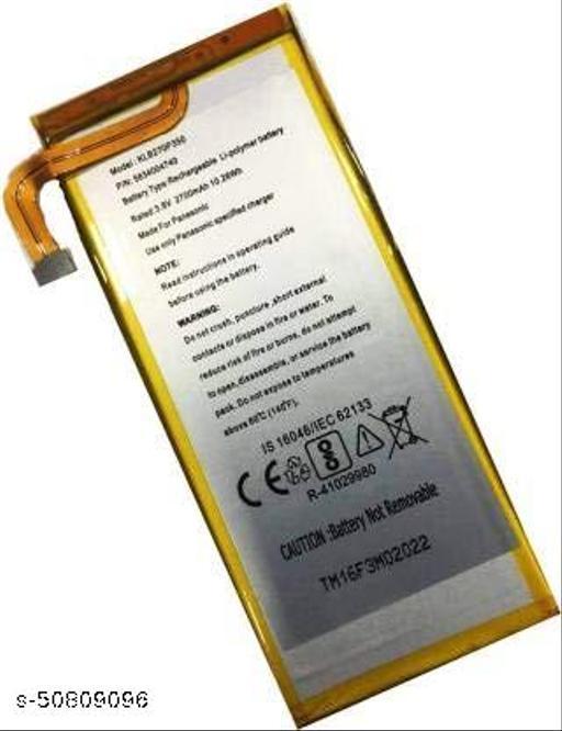 Divleen Compatible Mobile Battery for Panasonic Eluga i3 KLB270P350 2700mAh.
