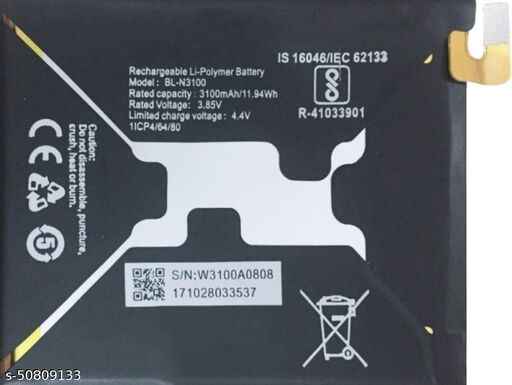 Divleen Compatible Mobile Battery for Gionee S10 BL-N3100 3100mAh.