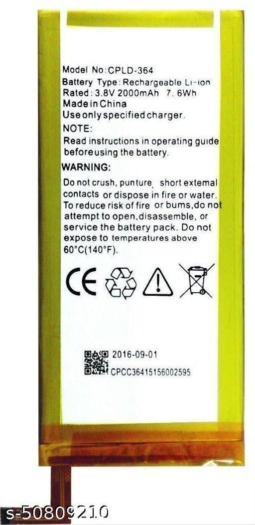 Divleen Compatible Mobile Battery for Panasonic Eluga L 4G CLPD-364 2000mAh