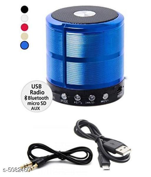 Unique Basic Wireless Bluetooth Speaker