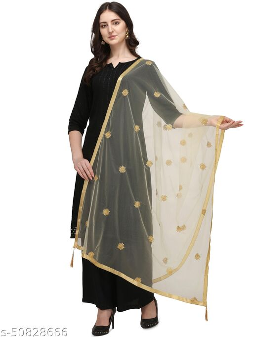 Ethnic studio present's beautifull collection of soft net embroidery work dupatta