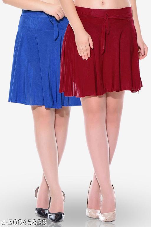 Mixcult 2 Combos Poly Crepe Skirt