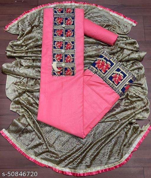 Power Look Unstiched Dress Material & Salwar Suit