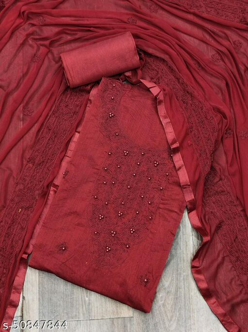 Aagyeyi Ensemble Semi-Stitched Suits