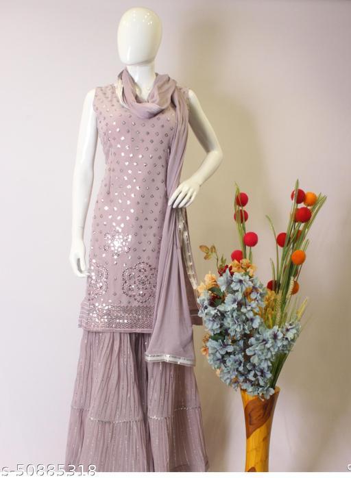Adrika Ensemble Semi-Stitched Suits