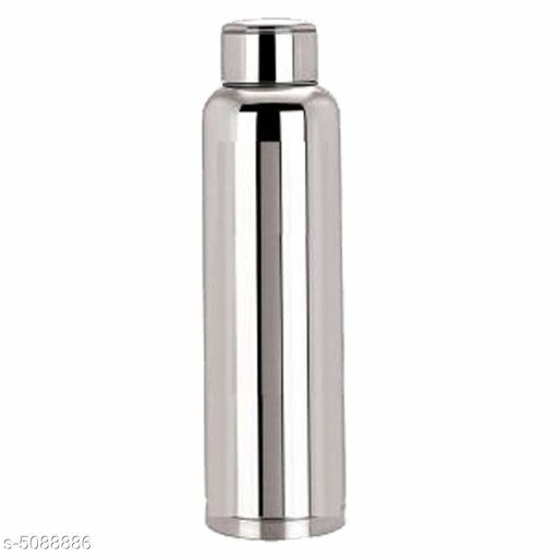 Stainless Steel 1Pcs Fridge Water Bottle/Refrigerator Bottle/Thunder(1000 ML)