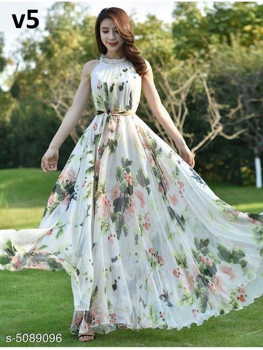 Stylish Women's Ethnic Gown