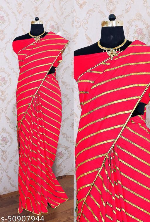 Designer festival saree
