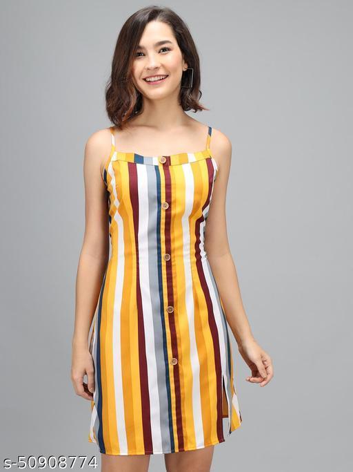 MODISTA STREET MULTICOLOR STYLISH DRESS