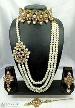 Trendy Stylish Alloy Women's Jewellery Set