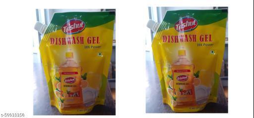 Fancy dish wash gel