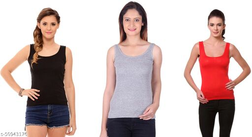 La Melodia Camisole Combo pack of 3