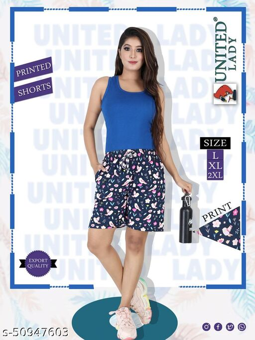 Designer Fashionista Women Shorts