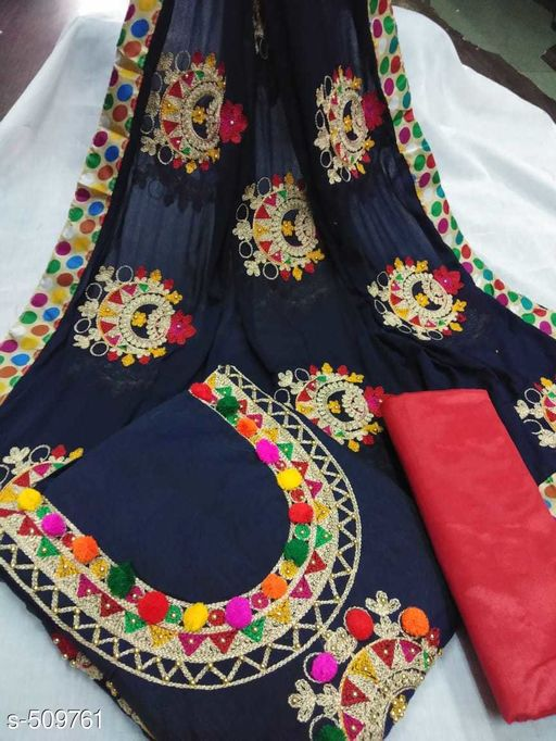 Stylish Women's Embroidered Suit