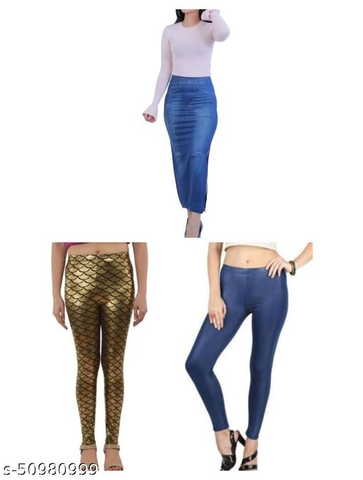Fashionable Modern Women Jeggings