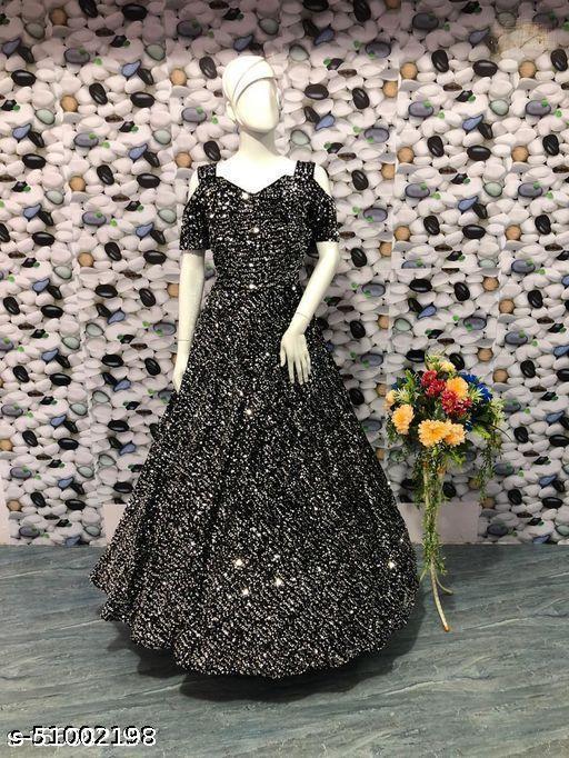 woman fancy gown