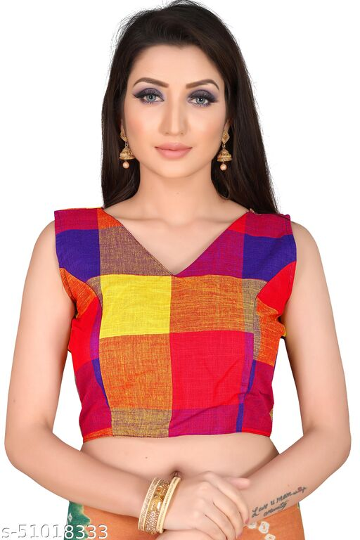 Lavender Valley Attractive Full Stitched Designer Blouse