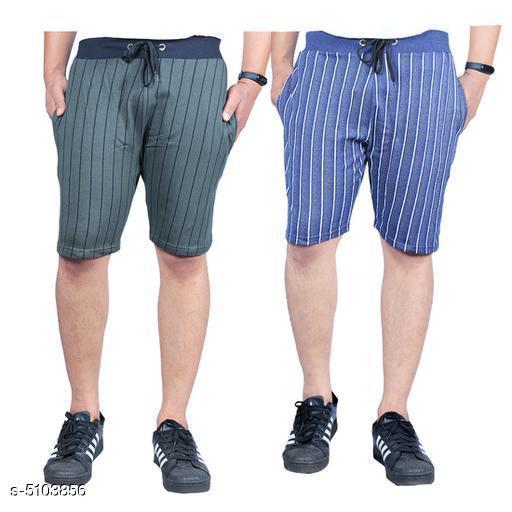 Elite Trendy Men's Shorts Combo (Pack Of 2)