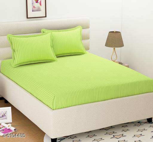 Stylish Polycotton 100 X 90 Double Bedsheet