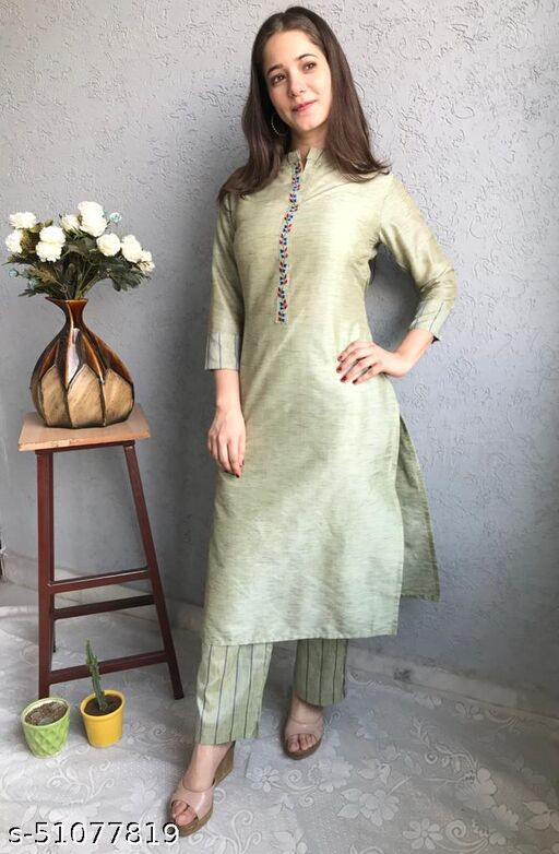 Trendy Sensational Women Kurta Sets