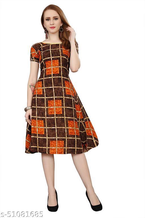 Women Stylish Fancy Western Dress
