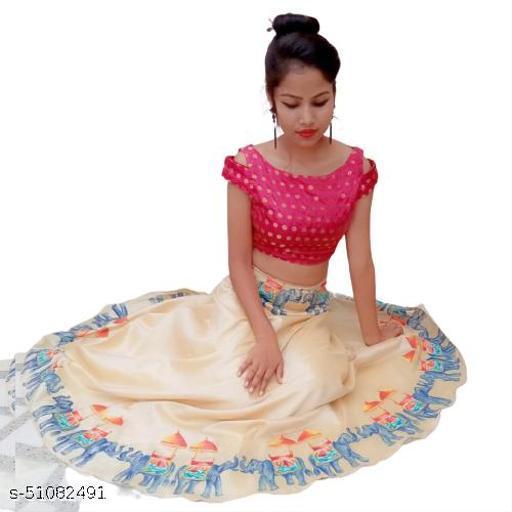 Myra Pretty Women Ethnic Skirts