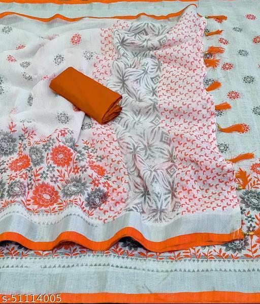Linen Fool Orange-FS