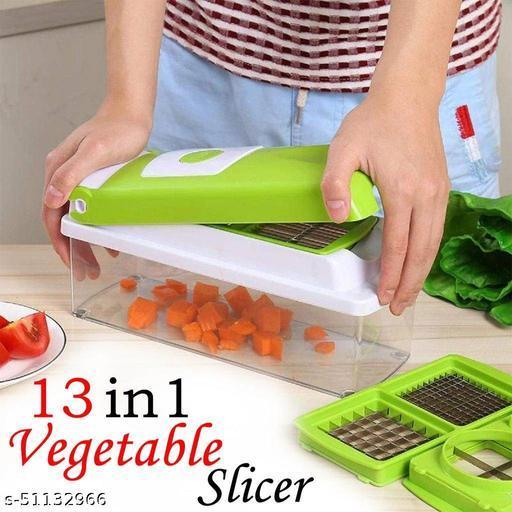 13-in-1 Manual Vegetable Grater,Chipser and Slicer