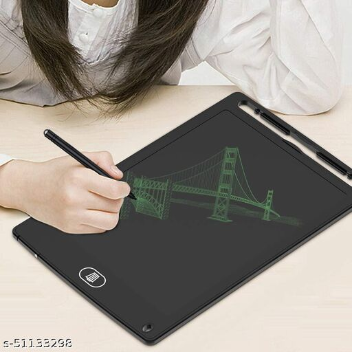 Nory Latest LCD Writing Tablet for Kids 8.5 Inch, Bropang Drawing Board Doodle Board Writing Pad Reusable Portable Ewriter Educational Toys, Gift for Kids Student Teacher Adults at Home