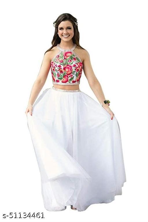 S-S FAB New Fashion Stylish Solid Lehenga Choli