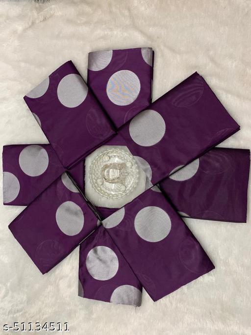 Banarasi Saree Silk Blend Woven Jacquard Saree For Women