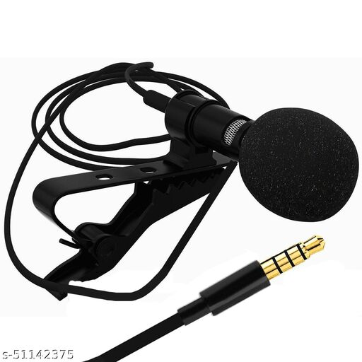 Nory Collar MIC Multi Purpose Lapel mic, 1.5 Meter Cable Length Suitable for I Phones, Android Phones, Computers & Wireless Receivers.