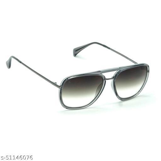 FZ-X-1014-C4 56mm Medium Rectangular Grey Gradient Sunglasses for  Men & Women