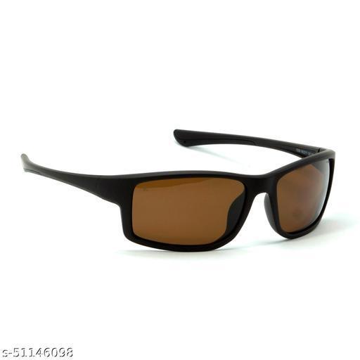 FZ-X-1006-C3 60mm Medium Sports,Wrap-around Brown Polarized Sunglasses for  Men