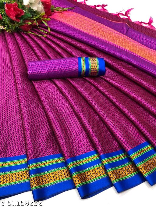 Vs Fab Banarasi With Soft Silk Saree