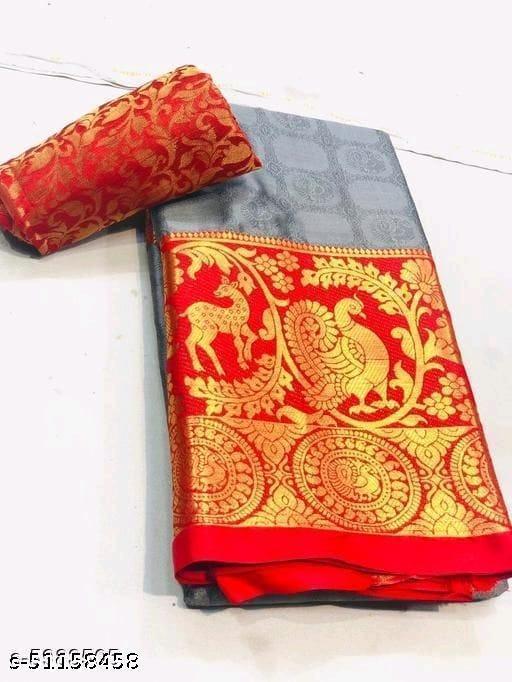 Juhi Textile Hiran Mor Design saree