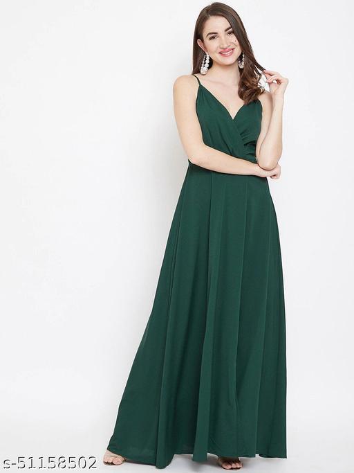 DHVAHRI Fit&Flared Dress