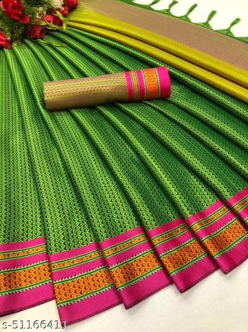 Parv Creation Banarasi With Soft Silk Saree
