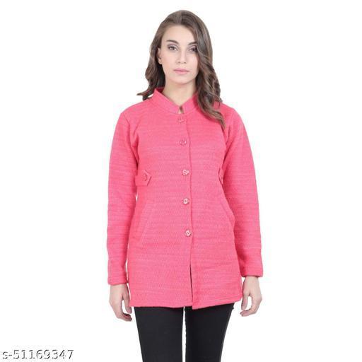 Women's Wool Round Neck Sweaters