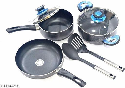 Lacuzini 7pcs Non Stick Cookware Set