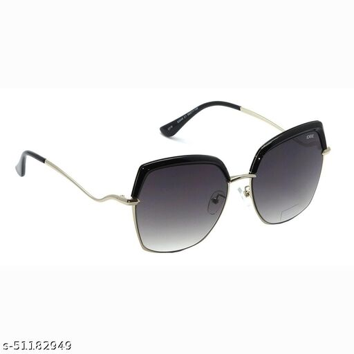 IDEE-S2546-C1 58mm Large Over-sized Black Gradient Sunglasses