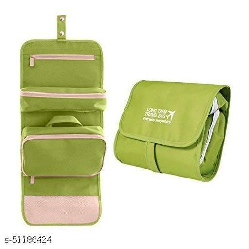 Travel Foldable Multipurpose Hanging Toiletry Travel Cosmetic/Bathroom Makeup Kit Organizer Bag.