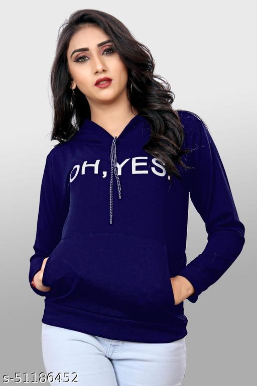 B K _ENTERPRISE Heavy Quality Polo Cotton Fabric Woman Sweatshirts.