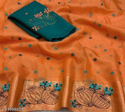 Vanisaa Kota Beauty (Damru) Satin Pattu Saree