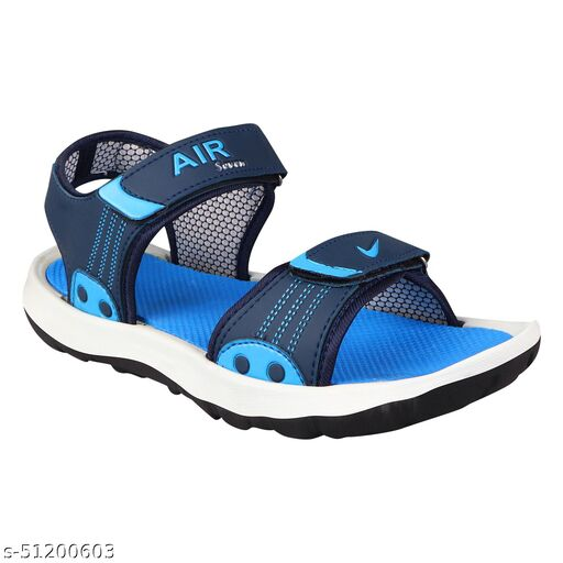 Stylish Air Seven Blue Casual Sandal for Gents