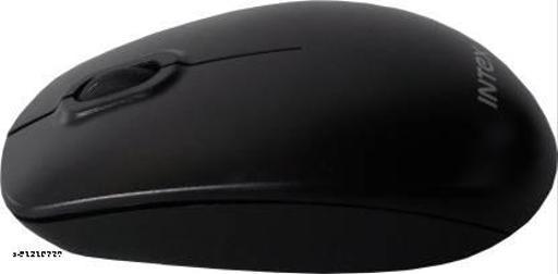 Intex IT-WL121 Wireless Optical Mouse  (2.4GHz Wireless, Black)