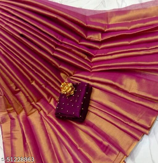 GREAT AND FANCY UNIQUE SAREE