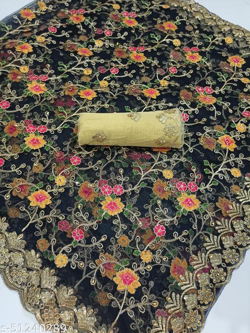 Bollywood Designer Sabyasachi Collection Saree For Women-BLACK
