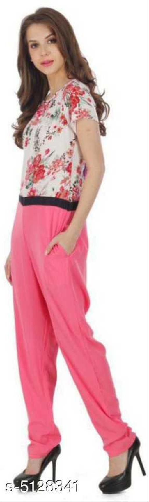 Charvi Graceful Crepe Women's Jumpsuits